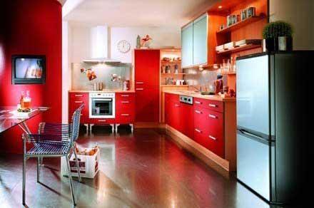 Kitchen should be full of color and flavor emoderndecor for Emodern decor