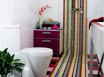 Instantly create avant garde bathroom home decoration for Emodern decor