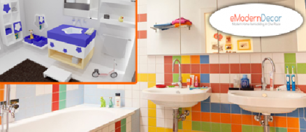 Bathroom design for Kids