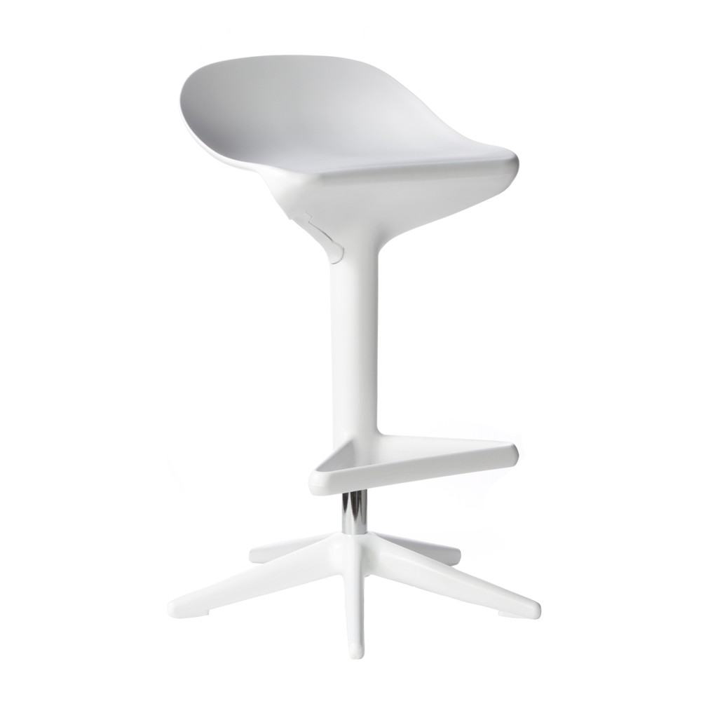 set of  citterio style abs molded white plastic adjustable height  - display gallery item  · display gallery item