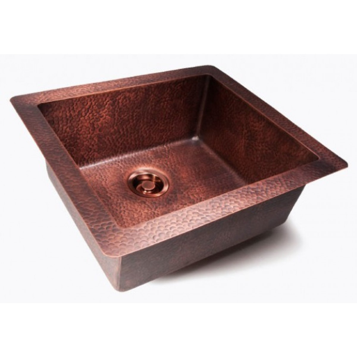 Hammered Undermount Bathroom Sink natural coffee hand hammered finish copper undermount / drop in