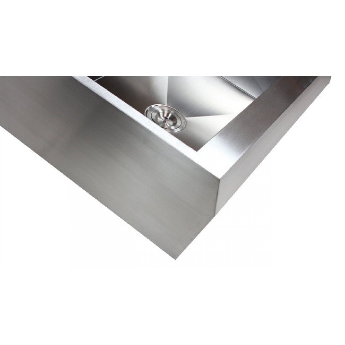 Angled Sink : ... 50 Double Bowl Zero Radius Well Angled Design Farm Apron Kitchen Sink