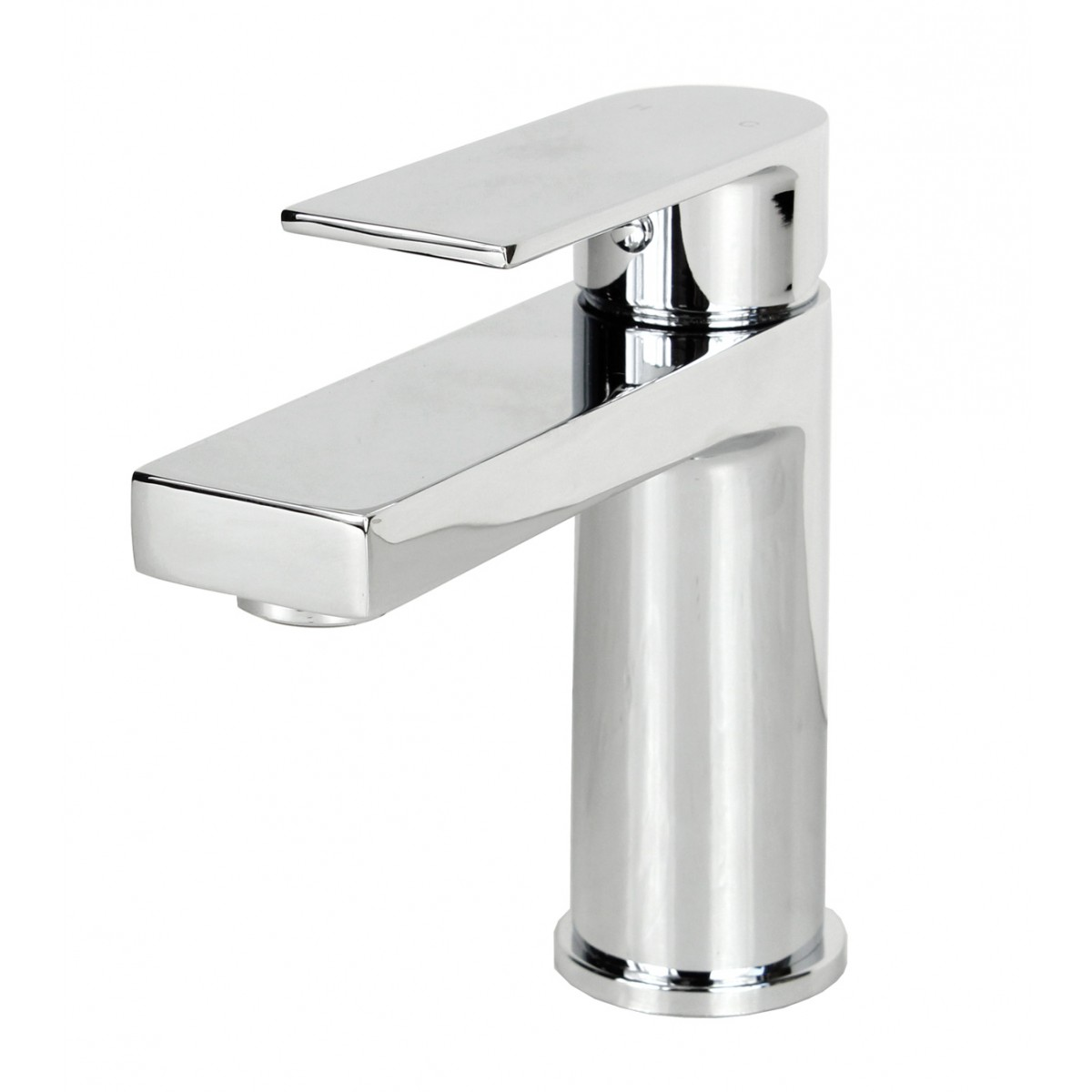 Single Hole Vessel Sink Faucet : Anna Polished Chrome Bathroom Vessel Sink Single Hole Faucet