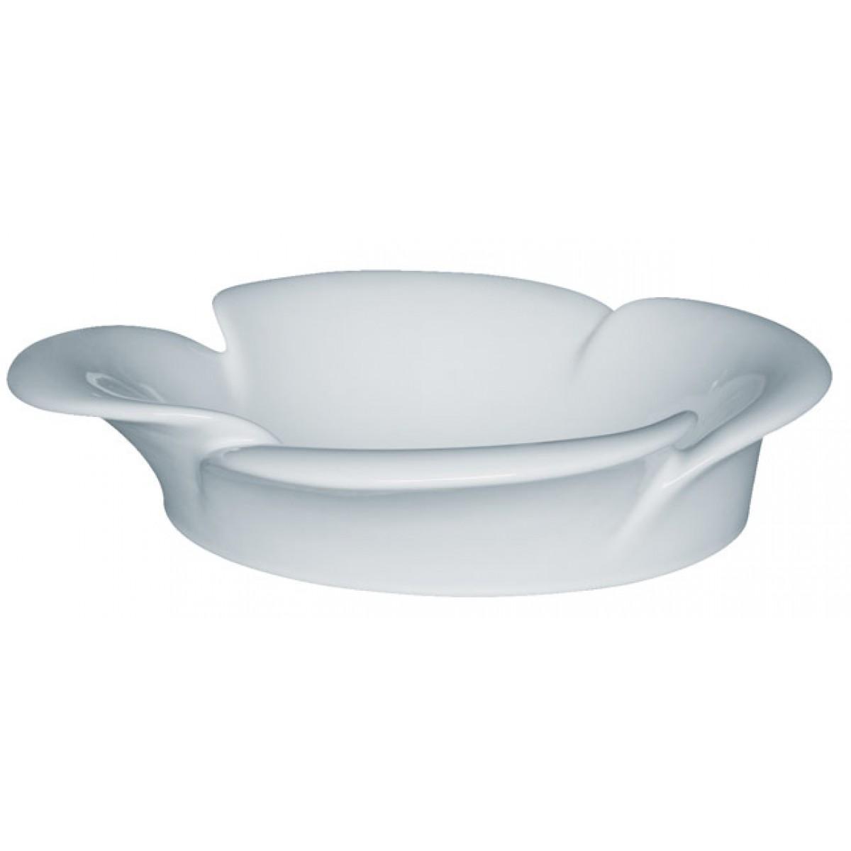 Flower Vessel Sink : Flower Porcelain Ceramic Countertop Bathroom Vessel Sink - 20-1/2 x 8 ...
