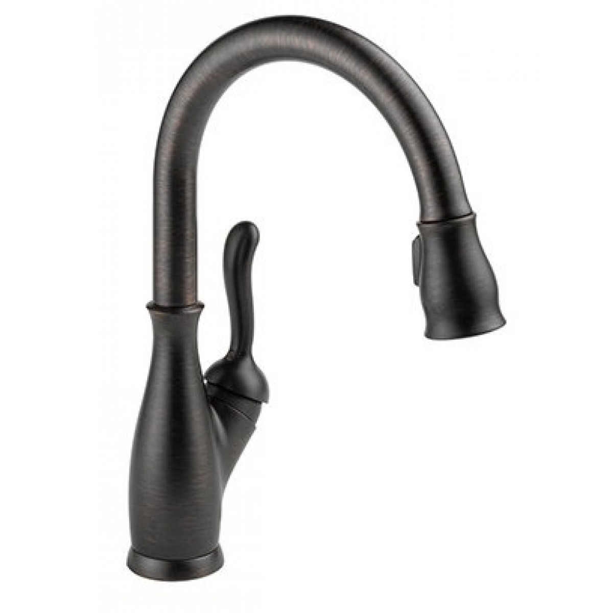 Kitchen Pull Down Faucet Reviews Delta Leland Lead Free Single Handle Pull Out Kitchen