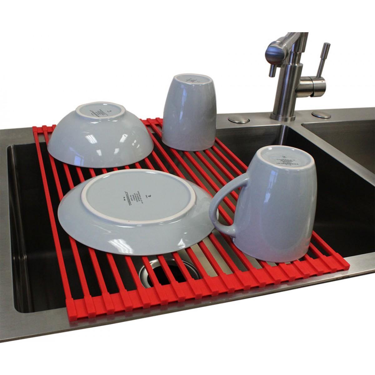 round 18 gauge stainless steel dropin undermount countertop