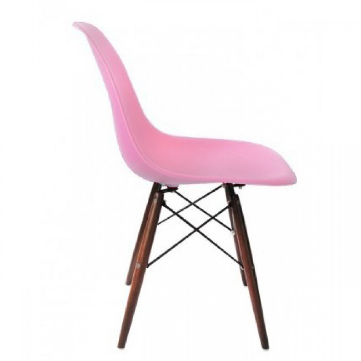 Eames Style DSW Molded Pink Plastic Dining Shell Chair  : dsw dark pink3 from www.emoderndecor.com size 1200 x 1200 jpeg 73kB