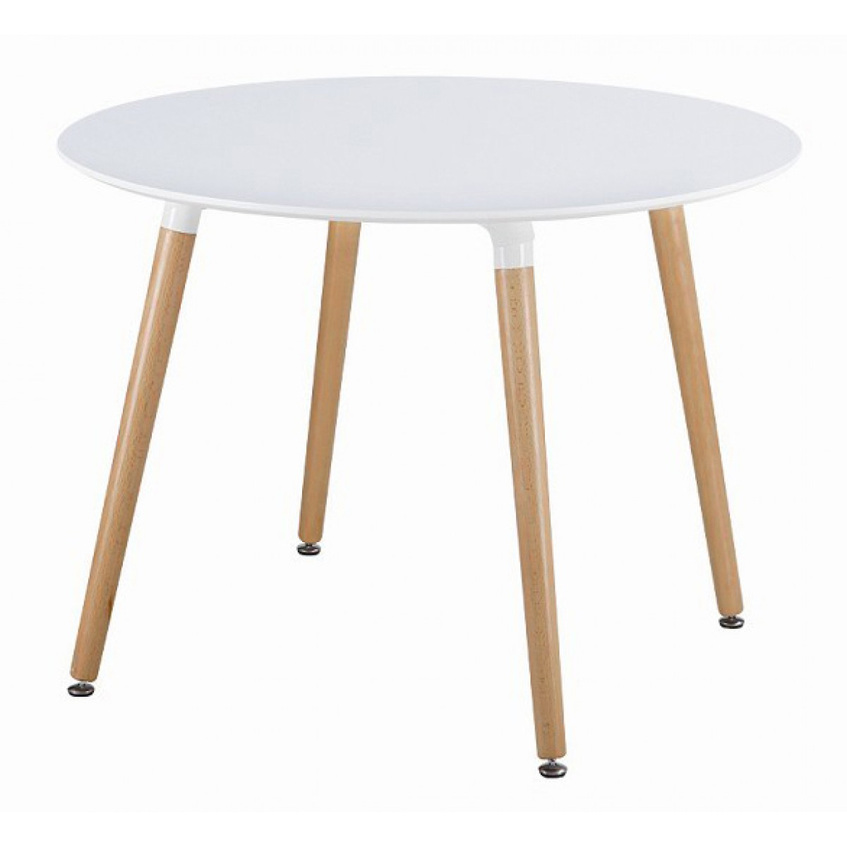 Eames style dsw white round dining table White round dining table