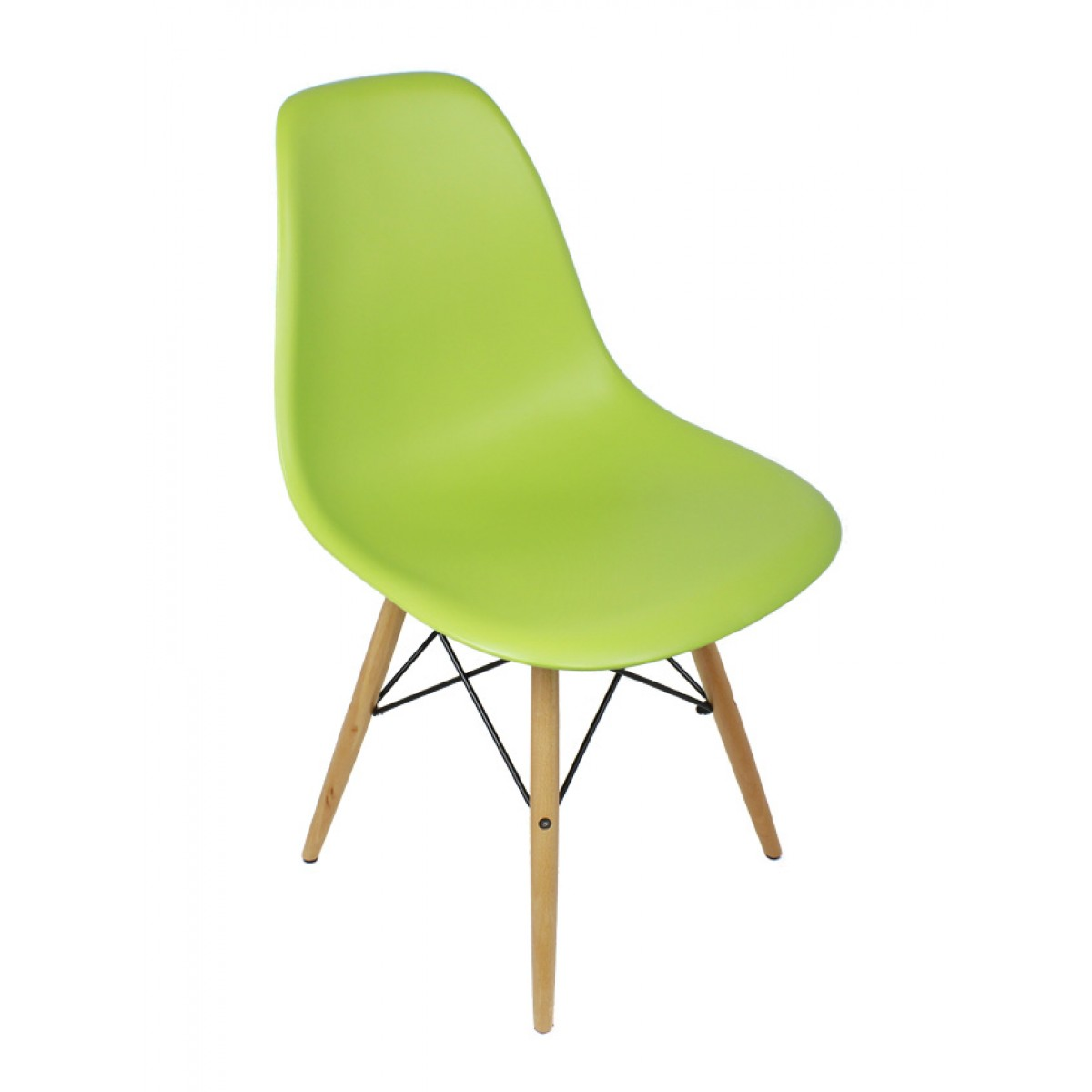 DSW Molded Lime Green Plastic Dining Shell Chair with Wood Eiffel LegsEames Style DSW Molded Lime Green Plastic Dining Shell Chair with  . Eames Dsw Chair Green. Home Design Ideas