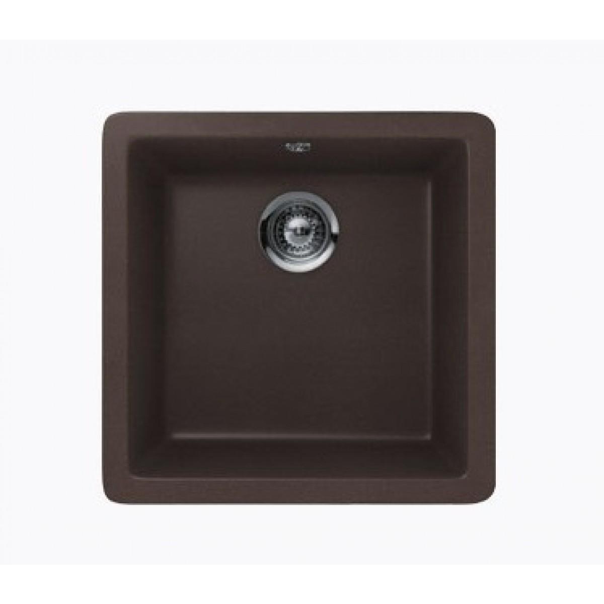 Mocha quartz composite single bowl undermount drop in for 11 x 16 kitchen designs