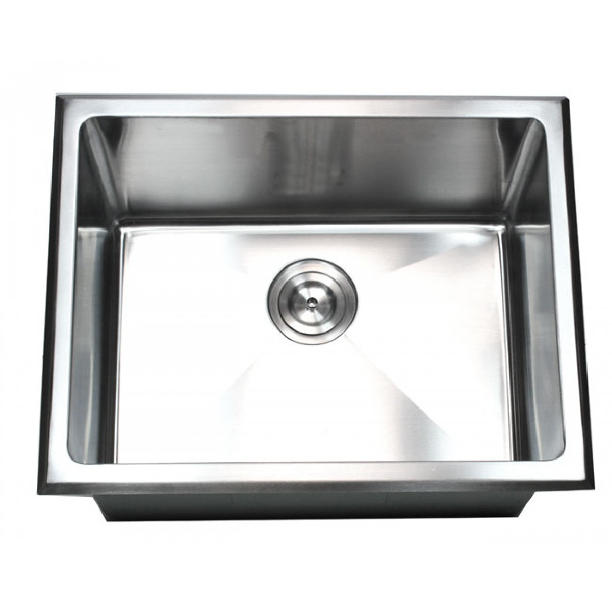 Stainless Steel Utility Sink Drop In : Inch Drop-In Stainless Steel Single Bowl Kitchen / Utility / Laundry ...