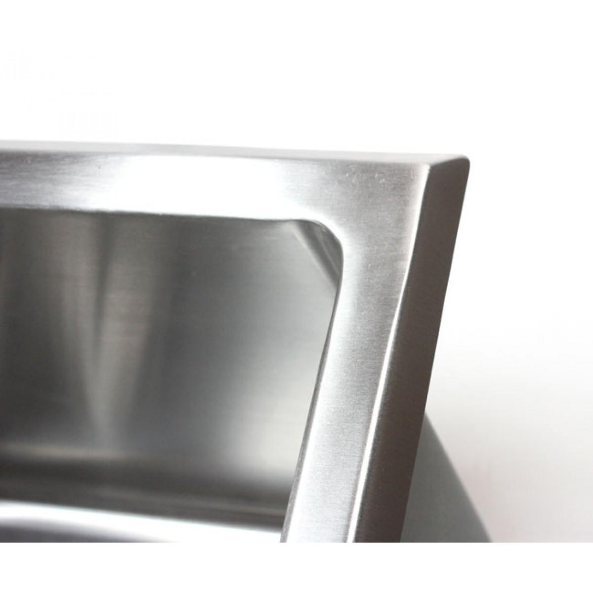 Stainless Steel Laundry Sink 12 Deep 510x450mm Handmade