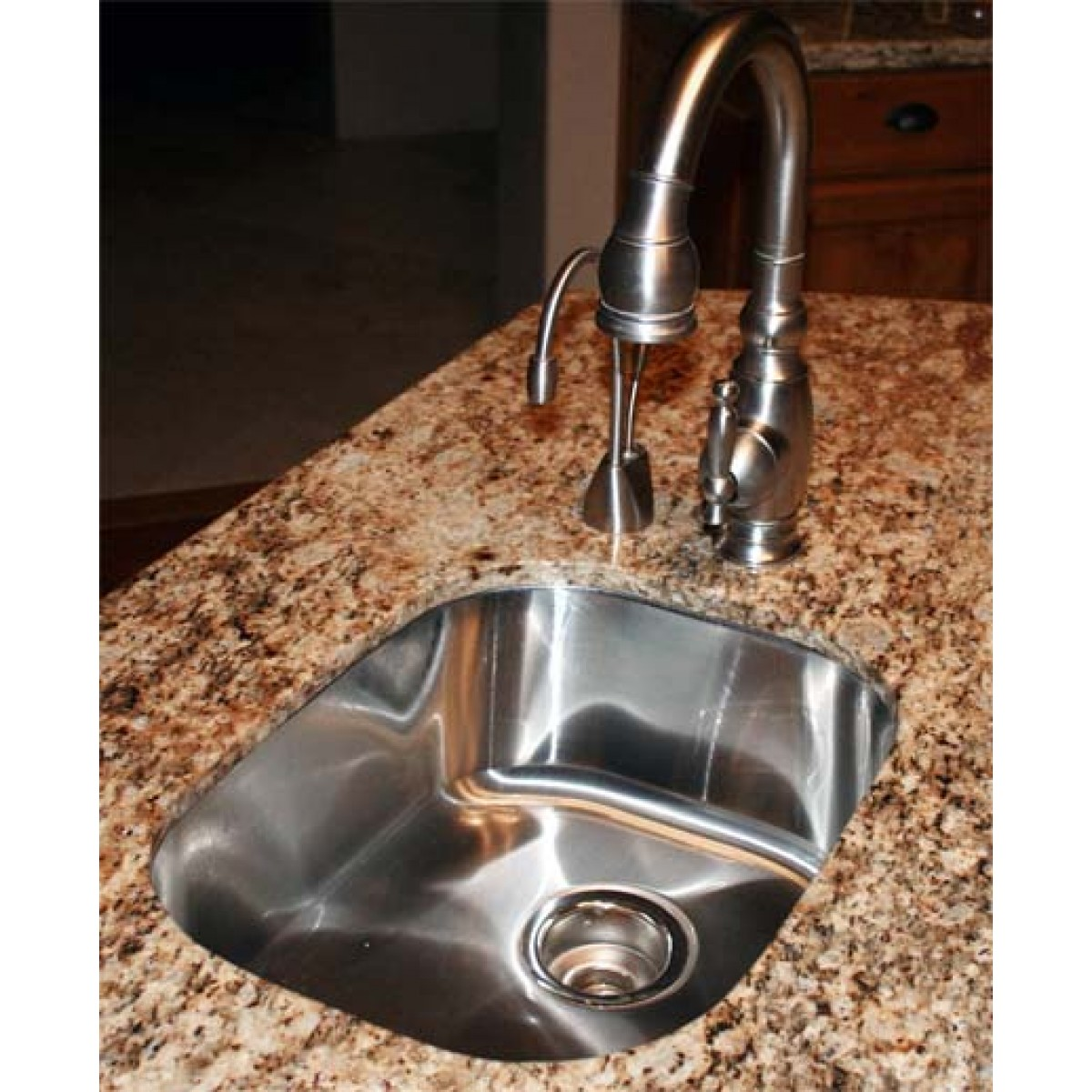16 inch stainless steel undermount single bowl kitchen - 18 inch kitchen sink ...