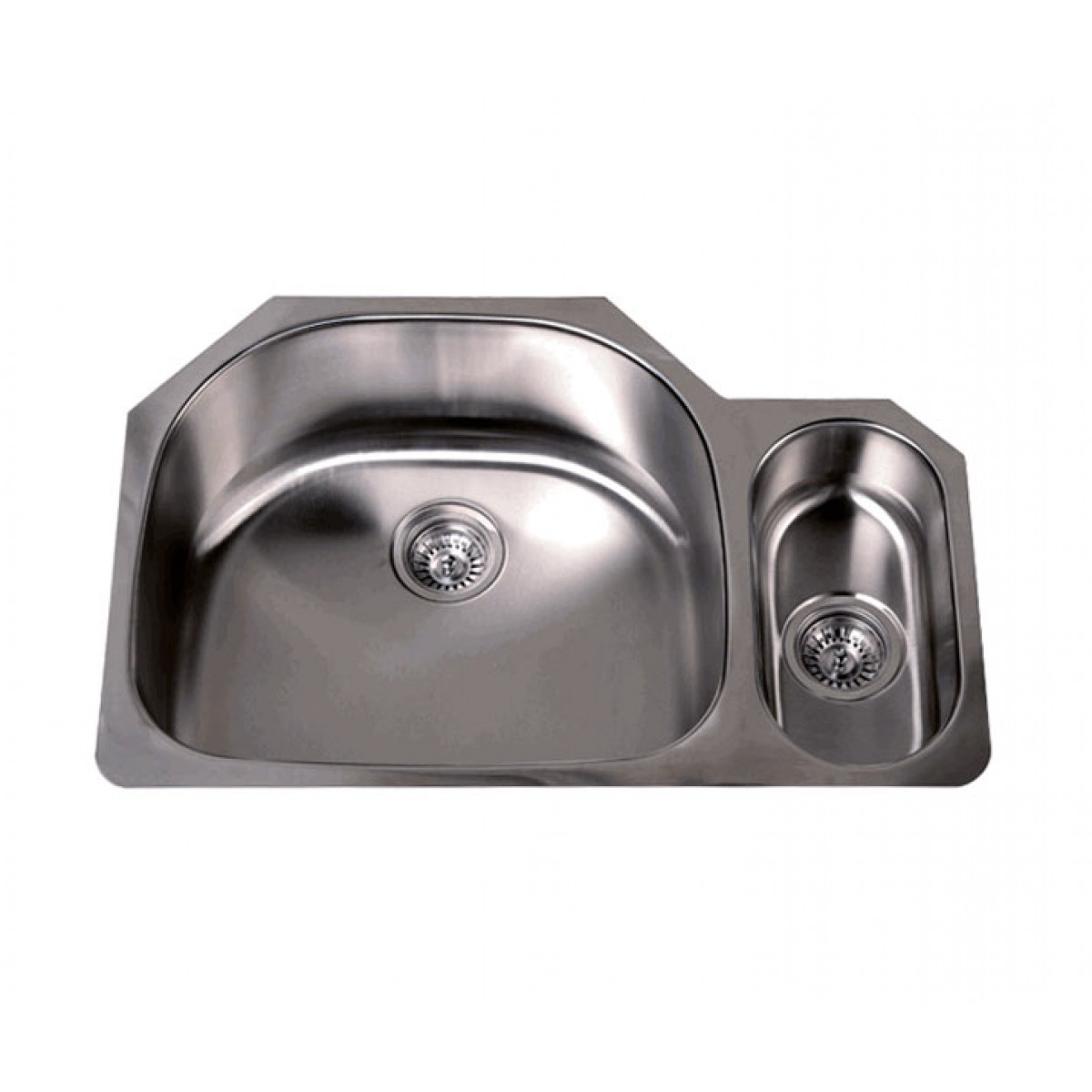 32 inch 16 gauge stainless steel undermount double large - Stainless steel kitchen sink accessories ...