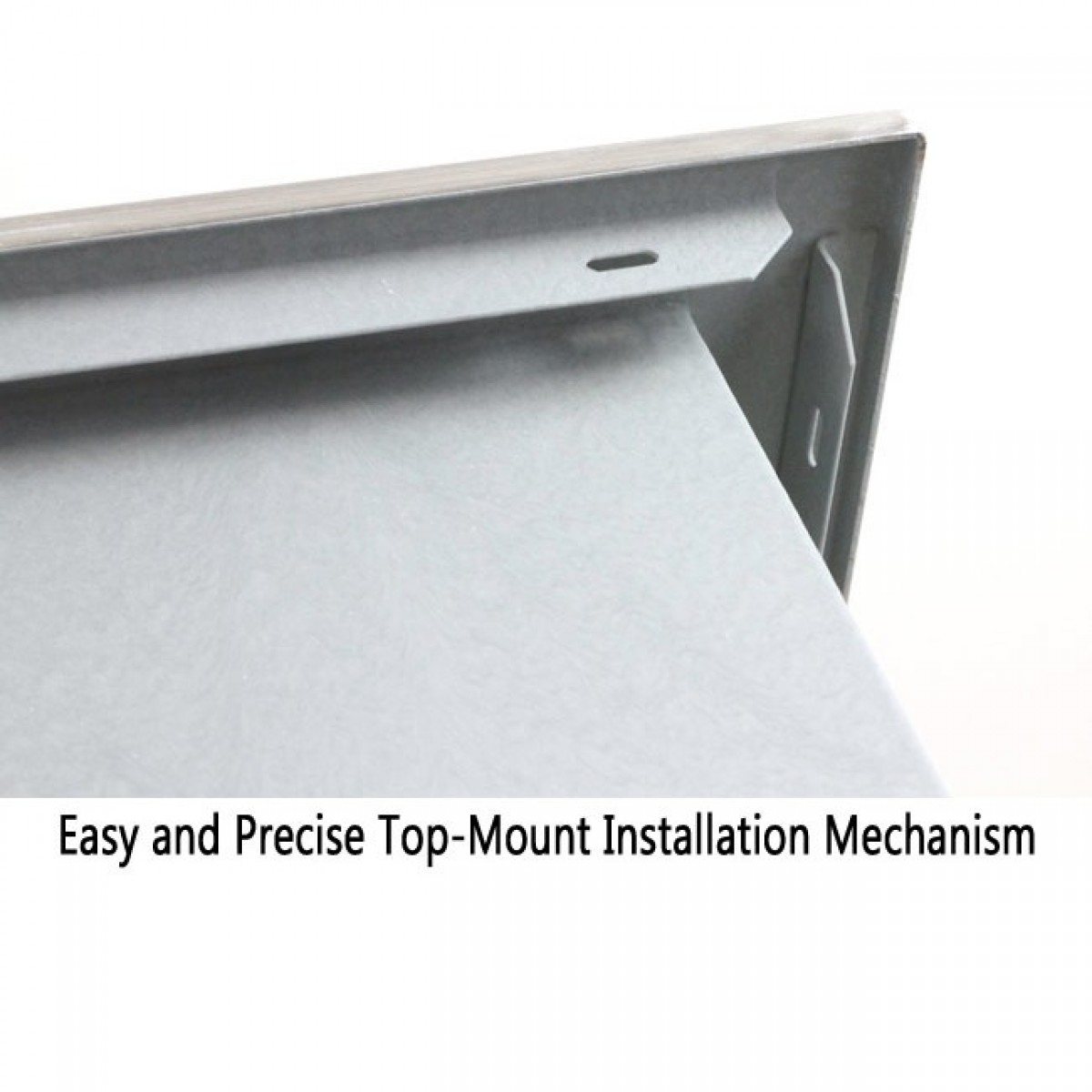 Stainless steel single bowl topmount drop in zero radius kitchen sink - Regular Price 800 00