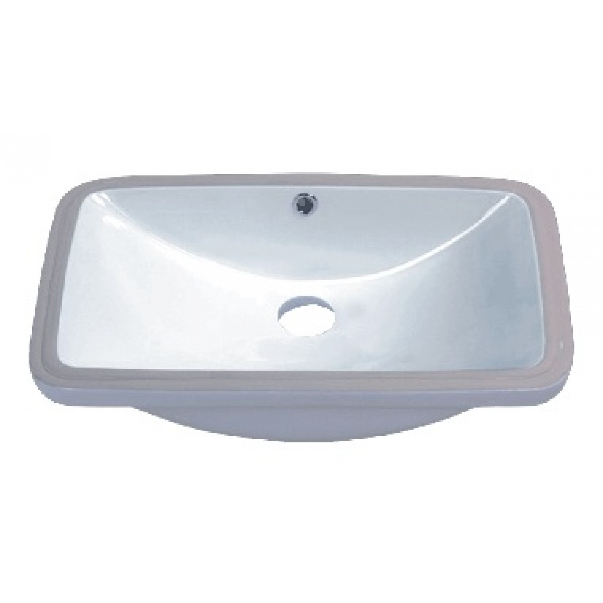 24 Inch Porcelain Ceramic Vanity Undermount Bathroom Vessel Sink