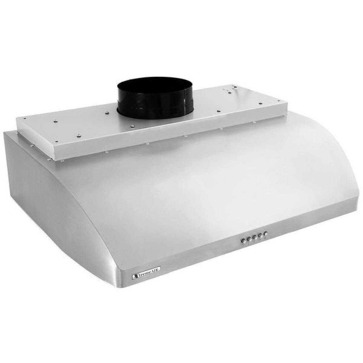 xtremeair 30 inch under cabinet stainless steel range hood ul14 u30 cfm 900. Black Bedroom Furniture Sets. Home Design Ideas