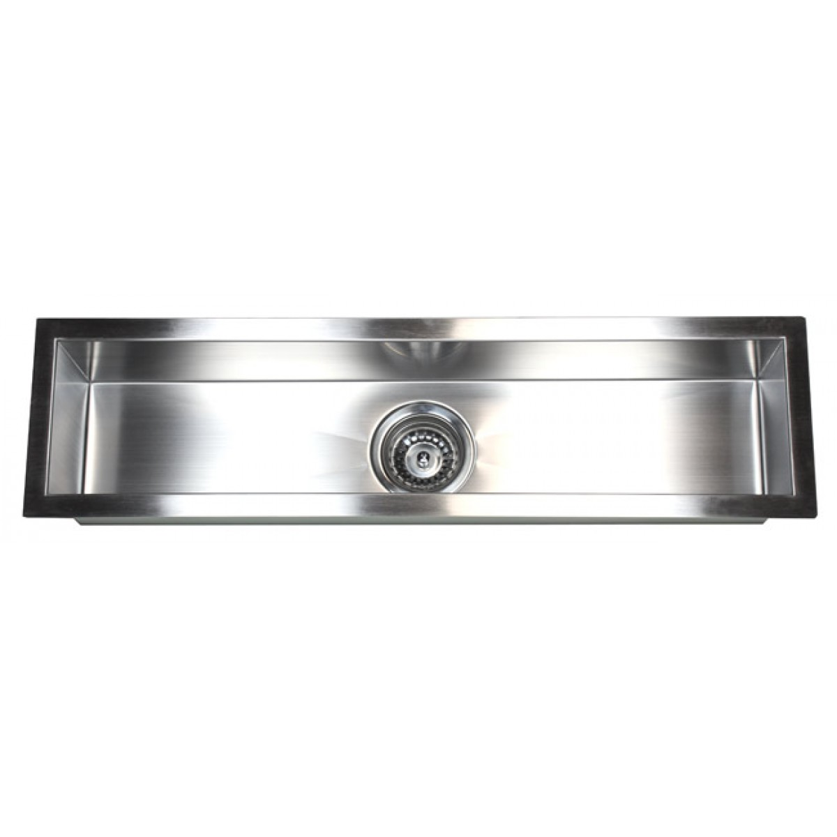Narrow Sinks Kitchen 32 inch stainless steel undermount single bowl kitchen bar prep 32 inch stainless steel undermount single narrow bowl kitchen bar prep sink zero radius design workwithnaturefo