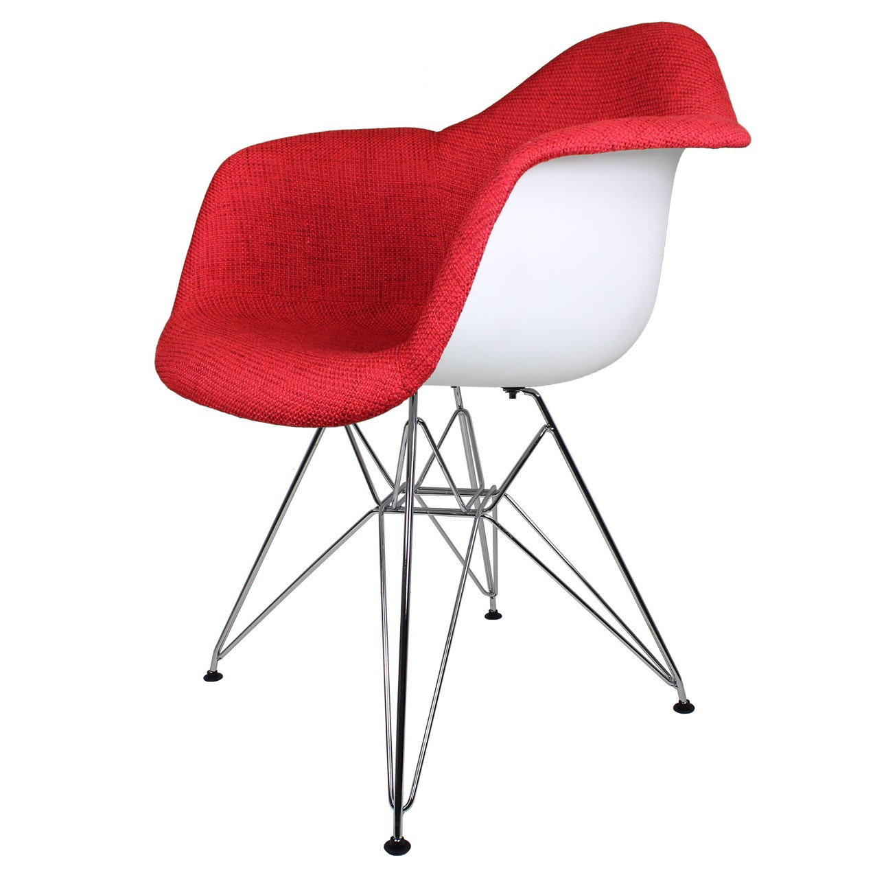100 red pattern accent chair red accent chair
