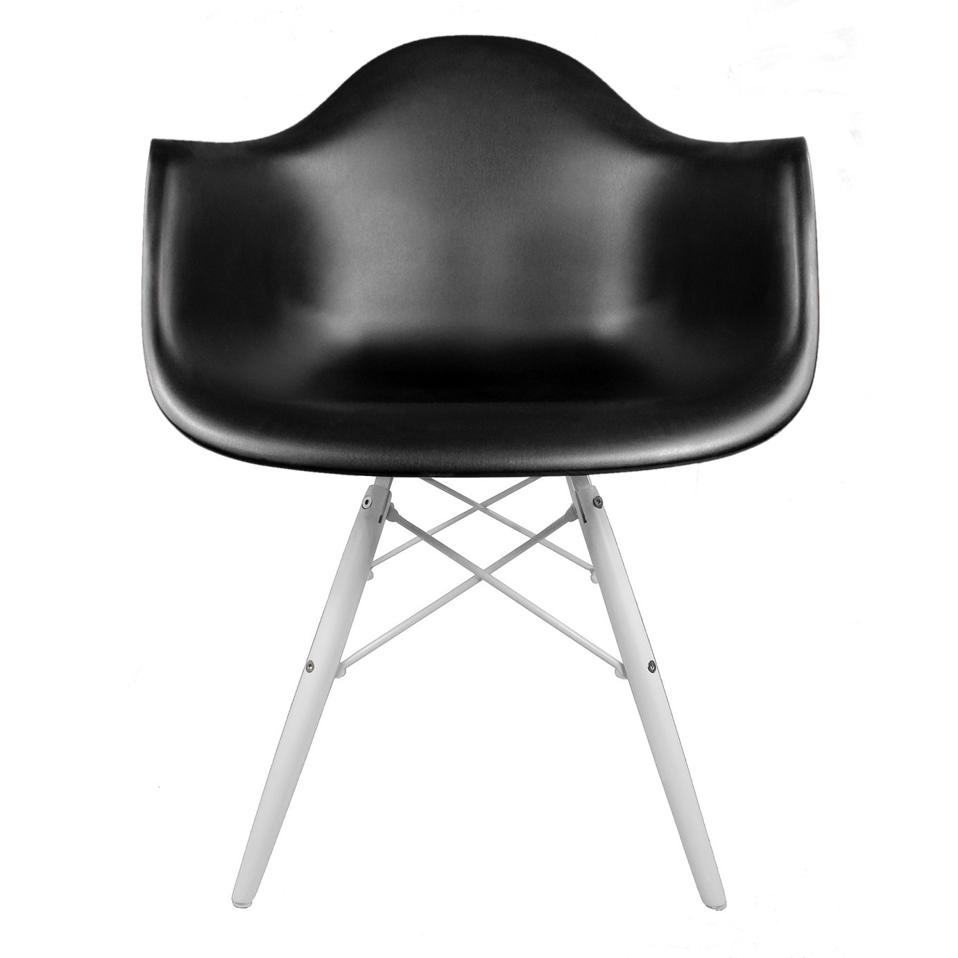 Display Gallery Item 1  Display Gallery Item 2  Eames Style DAW Molded Black Plastic Accent Arm Chair with White  . Eames Daw Chair Price. Home Design Ideas