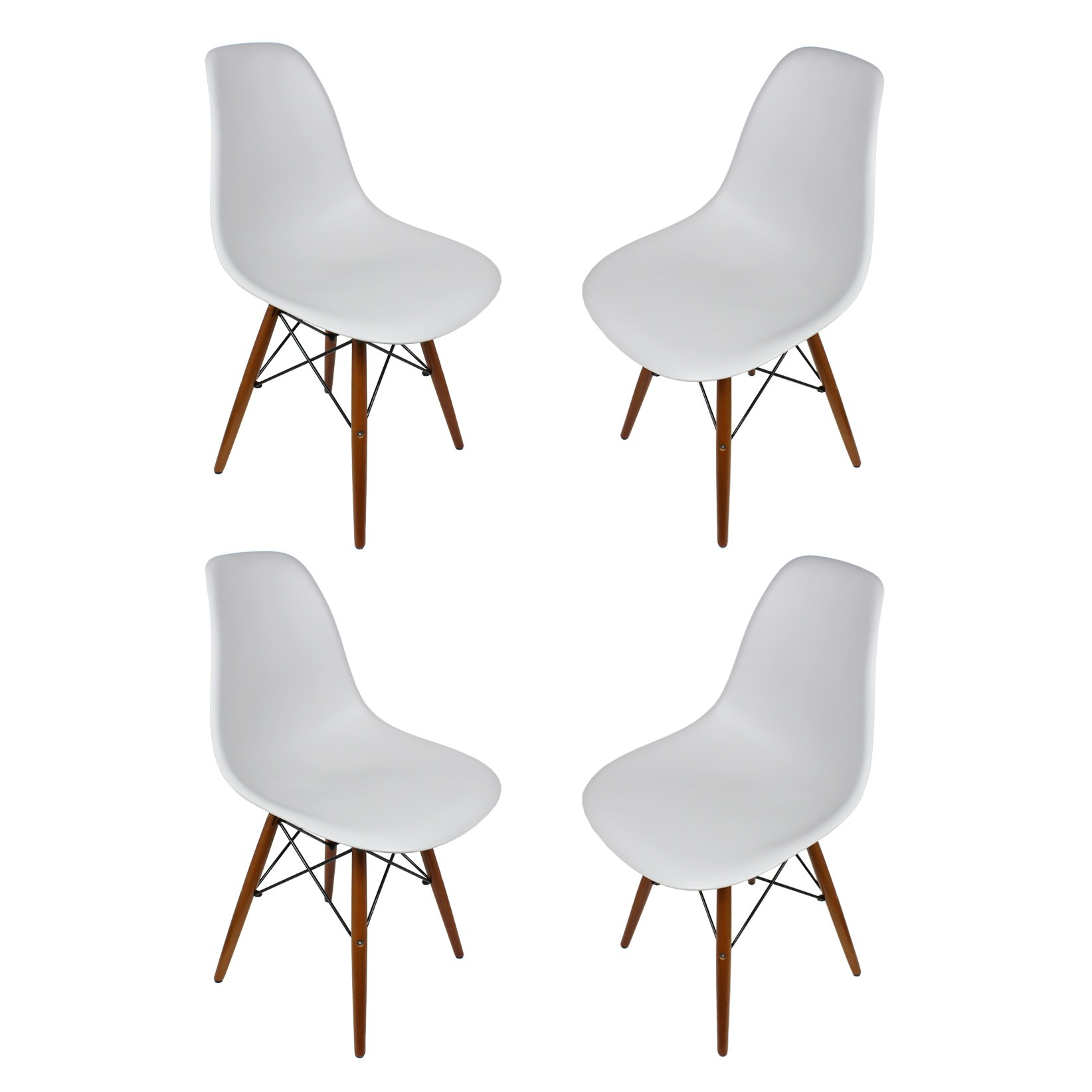 100 eames style dining chair herman miller eames racetrack