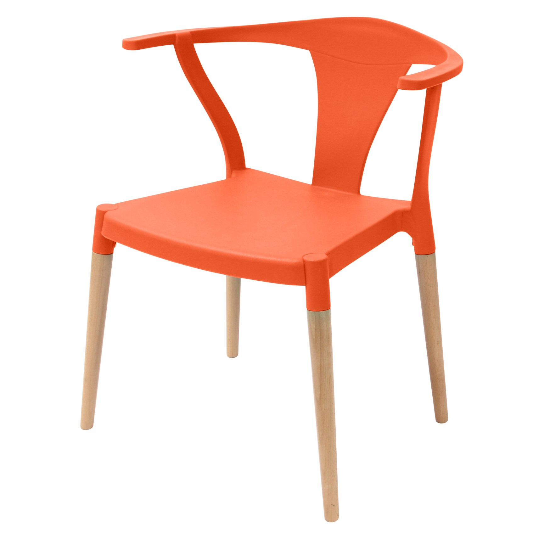 Icon Series Orange Modern Accent Dining Arm Chair Beech  : icon orange dining chairp1 from www.emoderndecor.com size 1694 x 1694 jpeg 149kB