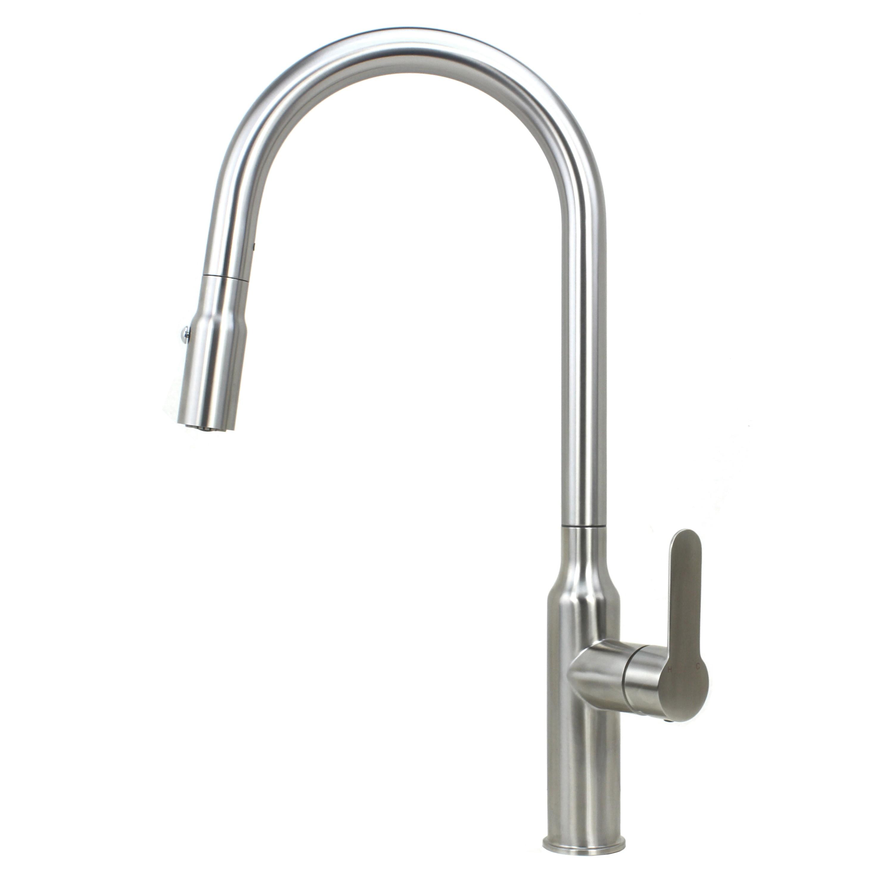 Ariel Flute Stainless Steel Lead Free Single Handle Pull