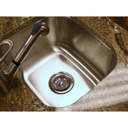 ... Steel Undermount Single Bowl Kitchen / Bar / Prep Sink - 18 Gauge