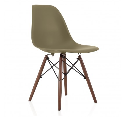 Molded Plastic Dining Chairs nature series cream beige eames style dsw molded plastic dining