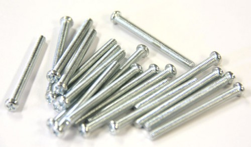 Cabinet Handles / Knobs 1-3/4 Inch Mounting Screw 20 Pcs