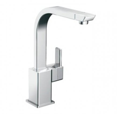 Moen 90 Degree Lead Free Single Handle High Arc Kitchen Faucet
