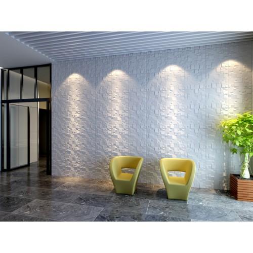 Ice Design 3D Glue On Wall Panel - Box of 10 (26.67sqft)