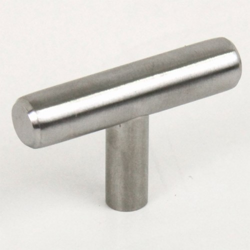 Euro 2 inch (50mm) Cabinet Stainless Steel T Pull Bar Handle