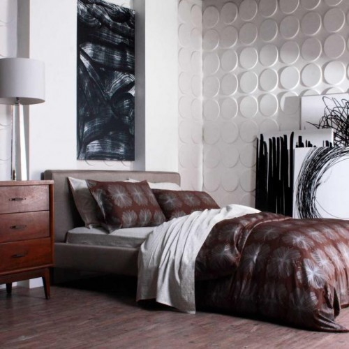 Cirque Pattern Design 3D Glue On Wall Panel / Wall Flats - Box of 12 (32.30 sqft)