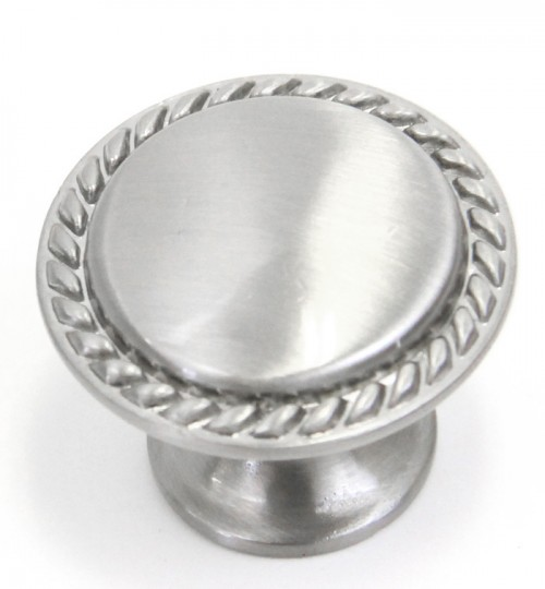 Bead Cabinet Pull Knob Brushed Nickel Finish