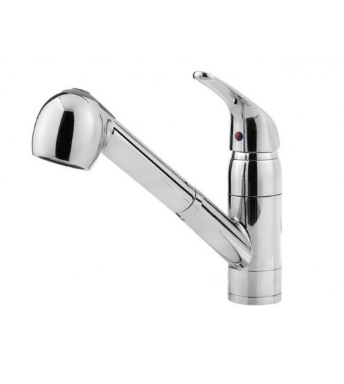 Pfister Pfirst Lead Free Single Handle Pull Out Kitchen Faucet