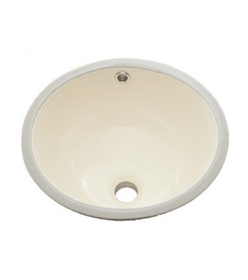 15 Inch Porcelain Ceramic Vanity Undermount Bathroom Vessel Sink