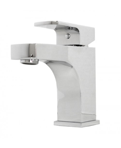 Lowa Polished Chrome Bathroom Vessel Sink Single Hole Faucet