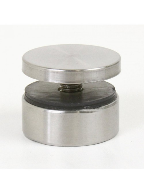1-1/2 Inch Diameter by 1/2 Inch Long Stainless Steel Standoff Hardware