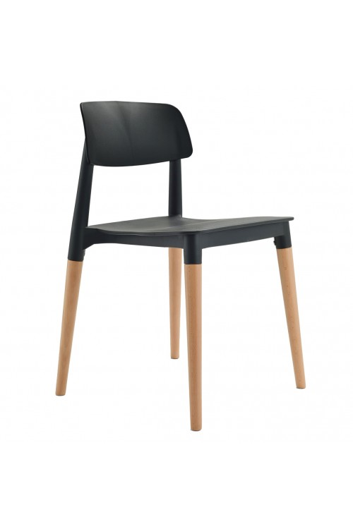Bel Black Dining Side Chair