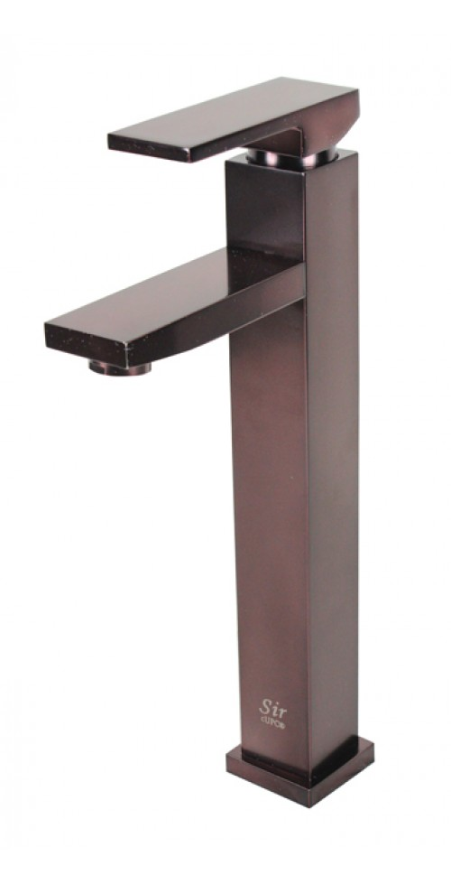 Lead Free Oil Rubbed Bronze Bathroom Lavatory Vessel Sink Faucet - 12-1/4 x 9 Inch