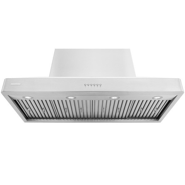 XtremeAIR 48 Inch Wall Mount Stainless Steel Range Hood DL08 W48