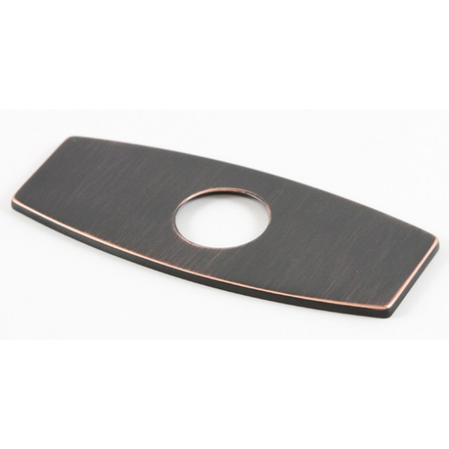 Bathroom Faucet Base Plate venetian bronze finish bathroom vessel sink faucet hole cover deck