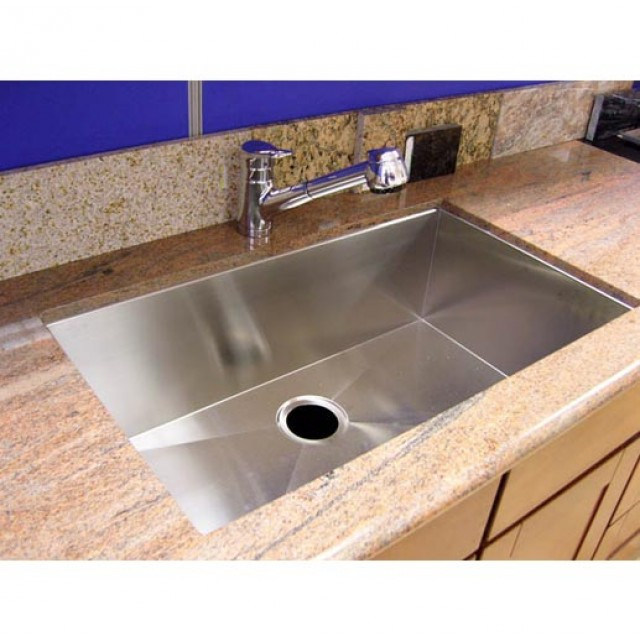 36 inch stainless steel undermount single bowl kitchen sink zero radius design 36 inch stainless steel undermount single bowl kitchen sink zero      rh   emoderndecor com