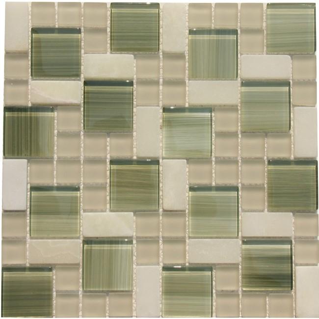 Mosaic Tile Mesh Backed Sheet Display Gallery Item 1