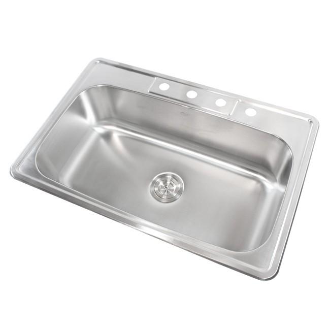 Kitchen Sink 18 Gauge Display Gallery Item 1 2