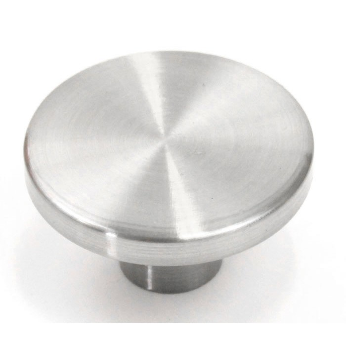 ale 114 inch cabinet pull knob brushed nickel finish
