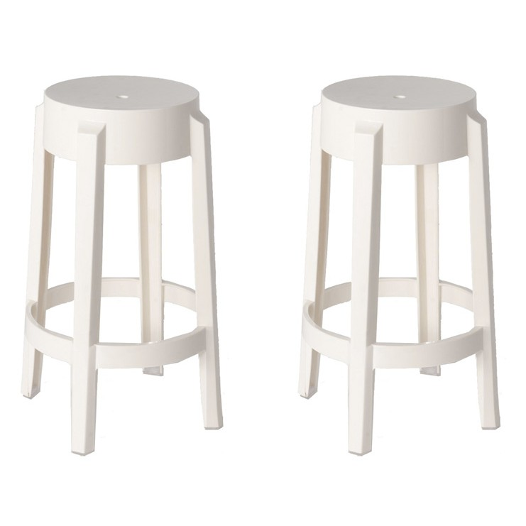 ghost counter stool white stools leather swivel faux wood height
