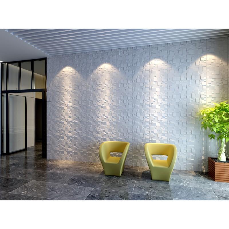Glue On Wall Panels : Ice design d glue on wall panel