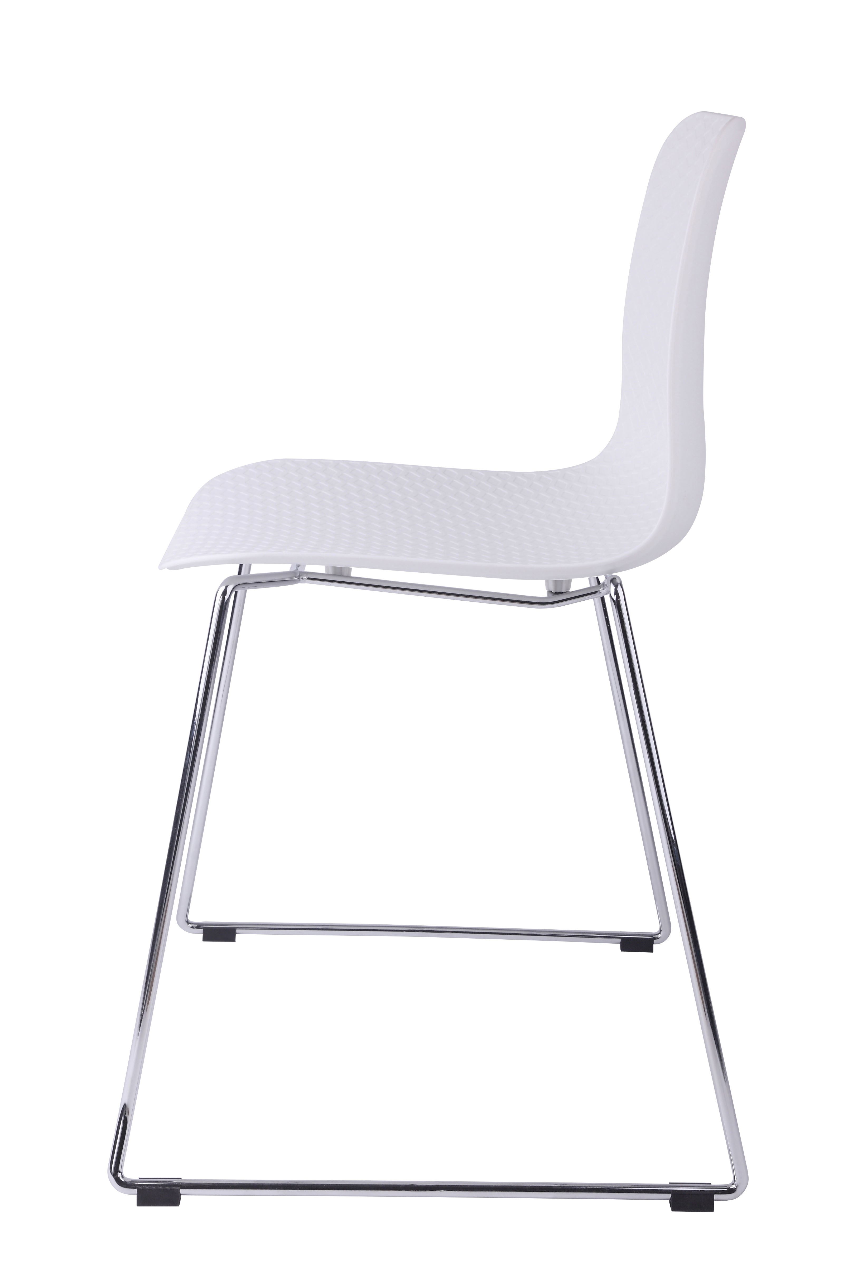 Molded plastic and metal chairs - With Your Purchase Receive At No Cost
